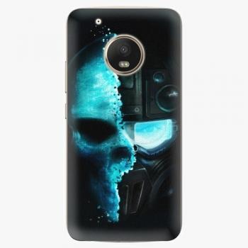 Plastový kryt iSaprio - Roboskull - Lenovo Moto G5 Plus