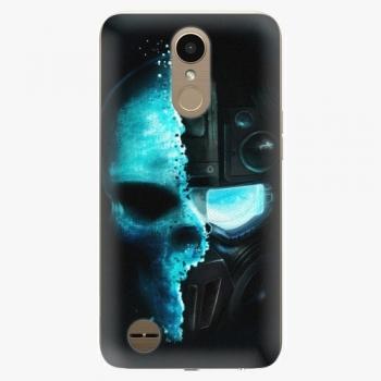 Plastový kryt iSaprio - Roboskull - LG K10 2017