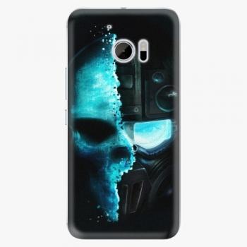 Plastový kryt iSaprio - Roboskull - HTC 10