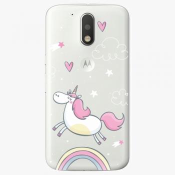 Plastový kryt iSaprio - Unicorn 01 - Lenovo Moto G4 / G4 Plus