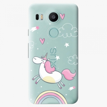 Plastový kryt iSaprio - Unicorn 01 - LG Nexus 5X