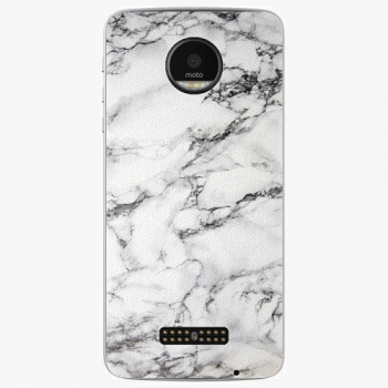 Plastový kryt iSaprio - White Marble 01 - Lenovo Moto Z