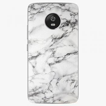 Plastový kryt iSaprio - White Marble 01 - Lenovo Moto G5