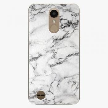 Plastový kryt iSaprio - White Marble 01 - LG K10 2017