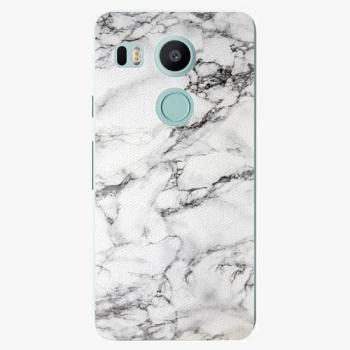 Plastový kryt iSaprio - White Marble 01 - LG Nexus 5X