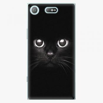 Plastový kryt iSaprio - Black Cat - Sony Xperia XZ1 Compact