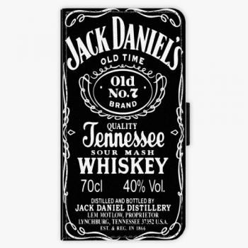 Flipové pouzdro iSaprio - Jack Daniels - Lenovo Moto G5
