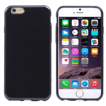 Pružný kryt iSaprio Jelly pro iPhone 6 Plus černý