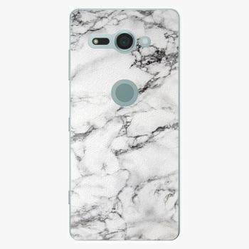 Plastový kryt iSaprio - White Marble 01 - Sony Xperia XZ2 Compact