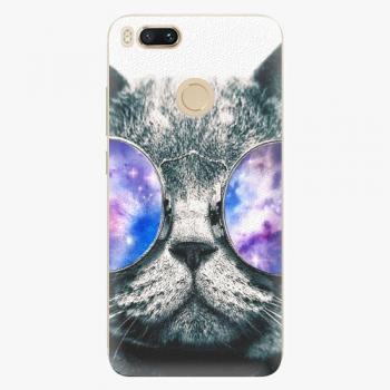 Plastový kryt iSaprio - Galaxy Cat - Xiaomi Mi A1