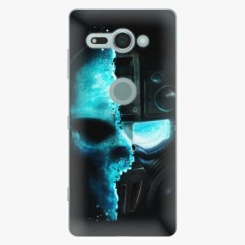 Plastový kryt iSaprio - Roboskull - Sony Xperia XZ2 Compact