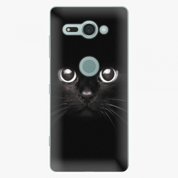 Plastový kryt iSaprio - Black Cat - Sony Xperia XZ2 Compact