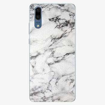 Plastový kryt iSaprio - White Marble 01 - Huawei P20