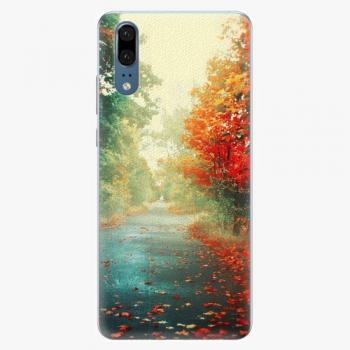 Plastový kryt iSaprio - Autumn 03 - Huawei P20