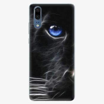 Plastový kryt iSaprio - Black Puma - Huawei P20