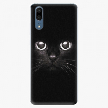 Plastový kryt iSaprio - Black Cat - Huawei P20