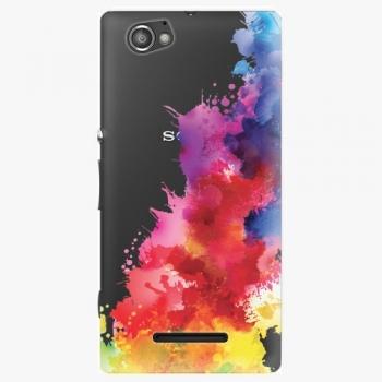 Plastový kryt iSaprio - Color Splash 01 - Sony Xperia M