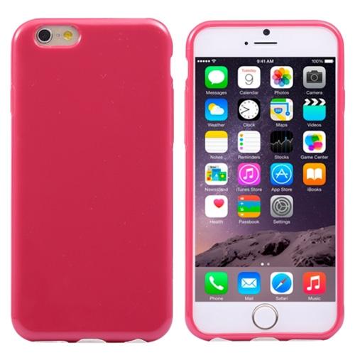 Pružný kryt iSaprio Jelly pro iPhone 6 Plus růžový