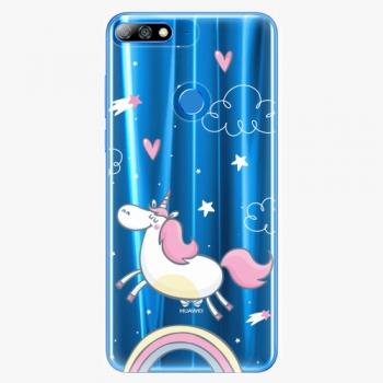 Plastový kryt iSaprio - Unicorn 01 - Huawei Y7 Prime 2018