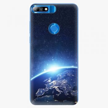 Plastový kryt iSaprio - Earth at Night - Huawei Y7 Prime 2018