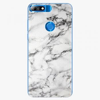 Plastový kryt iSaprio - White Marble 01 - Huawei Y7 Prime 2018