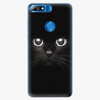 Plastový kryt iSaprio - Black Cat - Huawei Y7 Prime 2018