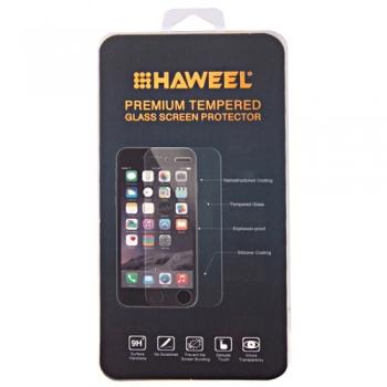 Tvrzené sklo 3D Haweel pro Samsung Galaxy A8 2018 - černé