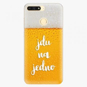 Plastový kryt iSaprio - Jdu na jedno - Huawei Honor 7A