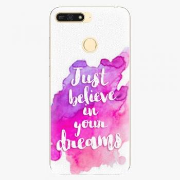Plastový kryt iSaprio - Believe - Huawei Honor 7A