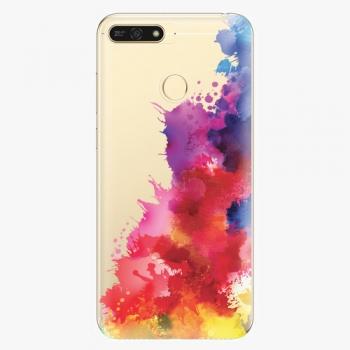 Plastový kryt iSaprio - Color Splash 01 - Huawei Honor 7A