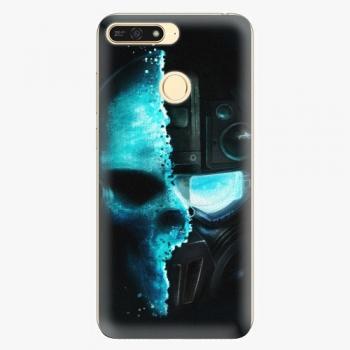 Plastový kryt iSaprio - Roboskull - Huawei Honor 7A