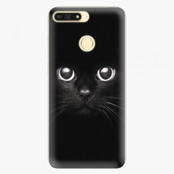 Plastový kryt iSaprio - Black Cat - Huawei Honor 7A