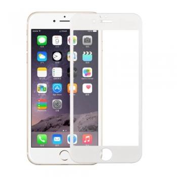 Tvrzené sklo 3D pro iPhone 6 Plus / 6S Plus bílé