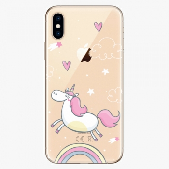 Plastový kryt iSaprio - Unicorn 01 - iPhone XS