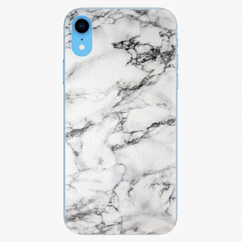 Plastový kryt iSaprio - White Marble 01 - iPhone XR