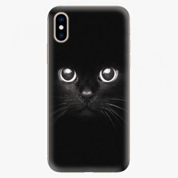 Plastový kryt iSaprio - Black Cat - iPhone XS