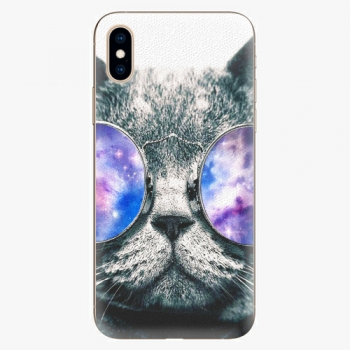Plastový kryt iSaprio - Galaxy Cat - iPhone XS