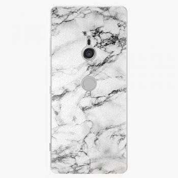 Plastový kryt iSaprio - White Marble 01 - Sony Xperia XZ3