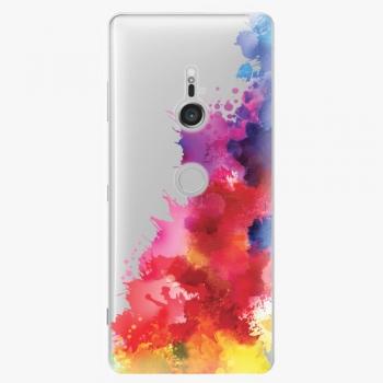 Plastový kryt iSaprio - Color Splash 01 - Sony Xperia XZ3