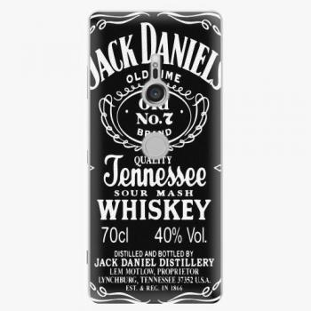 Plastový kryt iSaprio - Jack Daniels - Sony Xperia XZ3