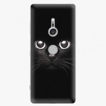 Plastový kryt iSaprio - Black Cat - Sony Xperia XZ3