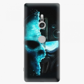 Plastový kryt iSaprio - Roboskull - Sony Xperia XZ3
