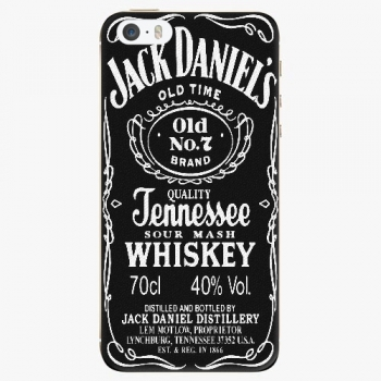 Silikonové pouzdro iSaprio - Jack Daniels - iPhone 5/5S/SE