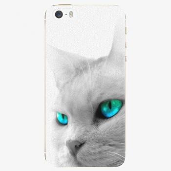 Silikonové pouzdro iSaprio - Cats Eyes - iPhone 5/5S/SE