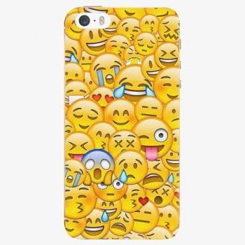 Silikonové pouzdro iSaprio - Emoji - iPhone 5/5S/SE