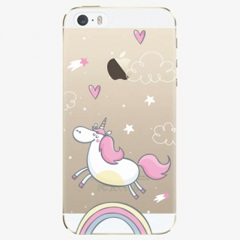 Silikonové pouzdro iSaprio - Unicorn 01 - iPhone 5/5S/SE