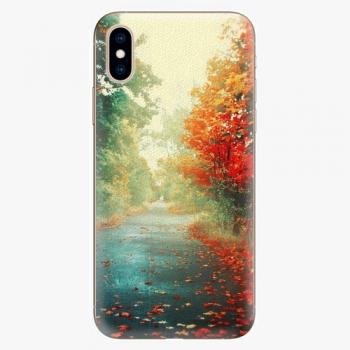 Silikonové pouzdro iSaprio - Autumn 03 - iPhone XS