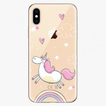 Silikonové pouzdro iSaprio - Unicorn 01 - iPhone XS