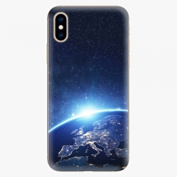 Silikonové pouzdro iSaprio - Earth at Night - iPhone XS