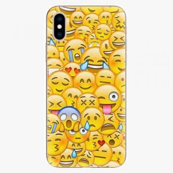 Silikonové pouzdro iSaprio - Emoji - iPhone XS